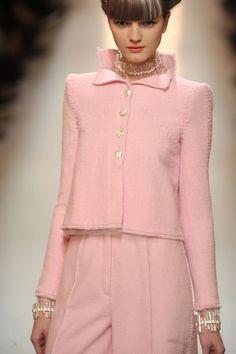 tailleur rose