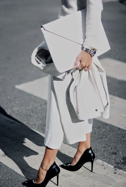 look blanc hiver