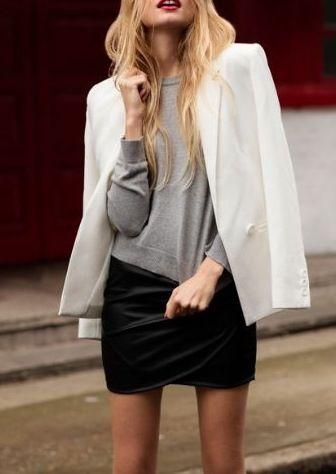 veste blanche